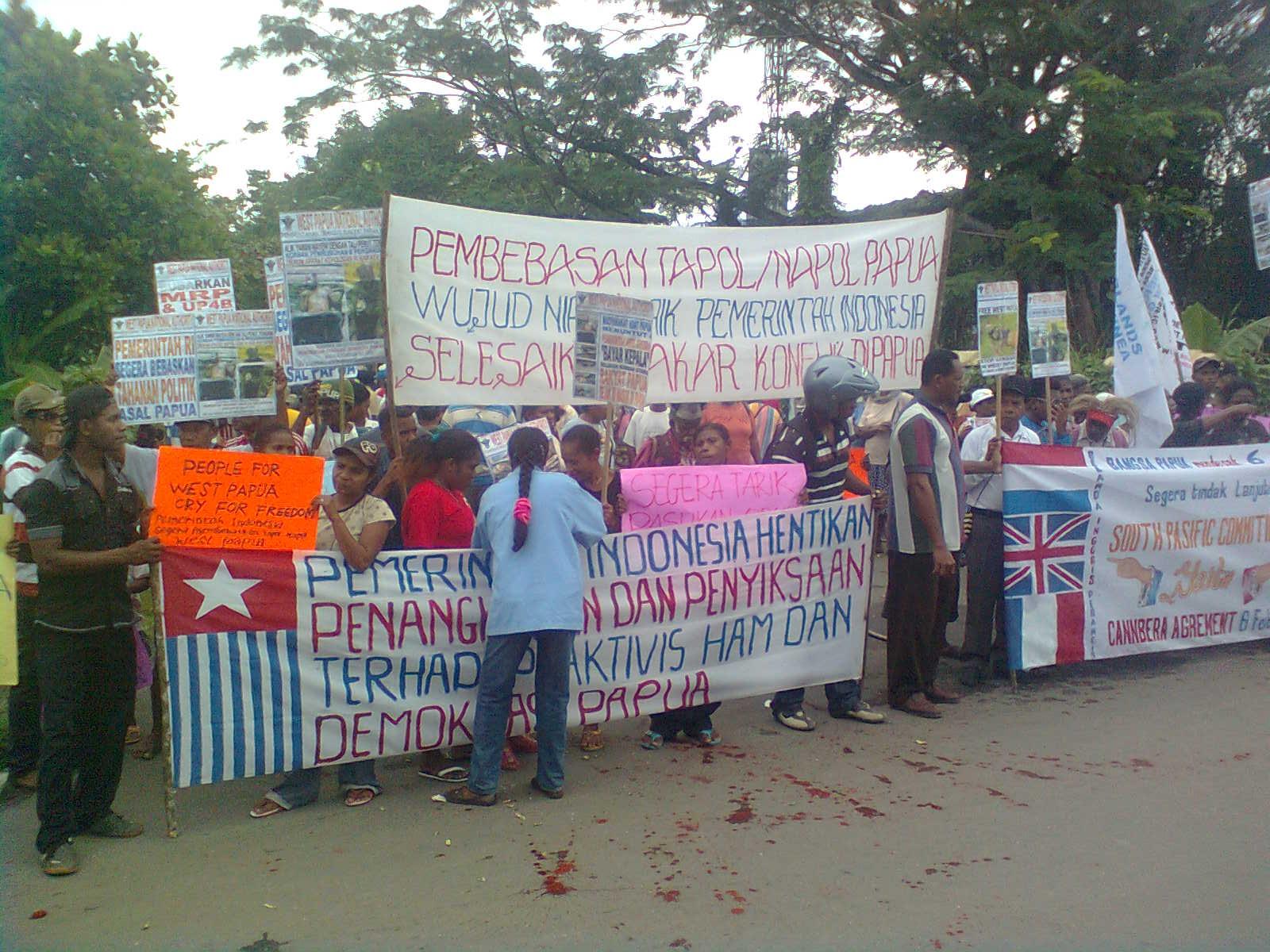 Mulai mulai people of papua call for