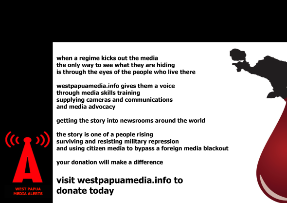 Donate to Support Media Freedom for West Papua
