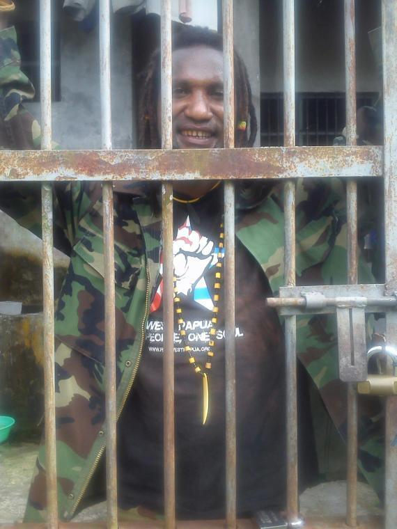 KNPB Timika Activist  Romario Yatipai