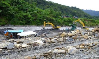 mining on the Degeuwo River (JUBI)